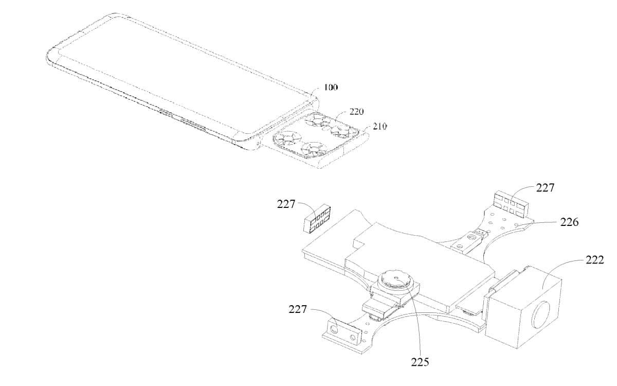 Vivo brevet smartphone drone