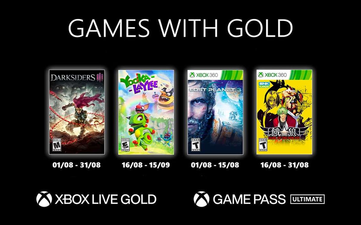 games with gold aout