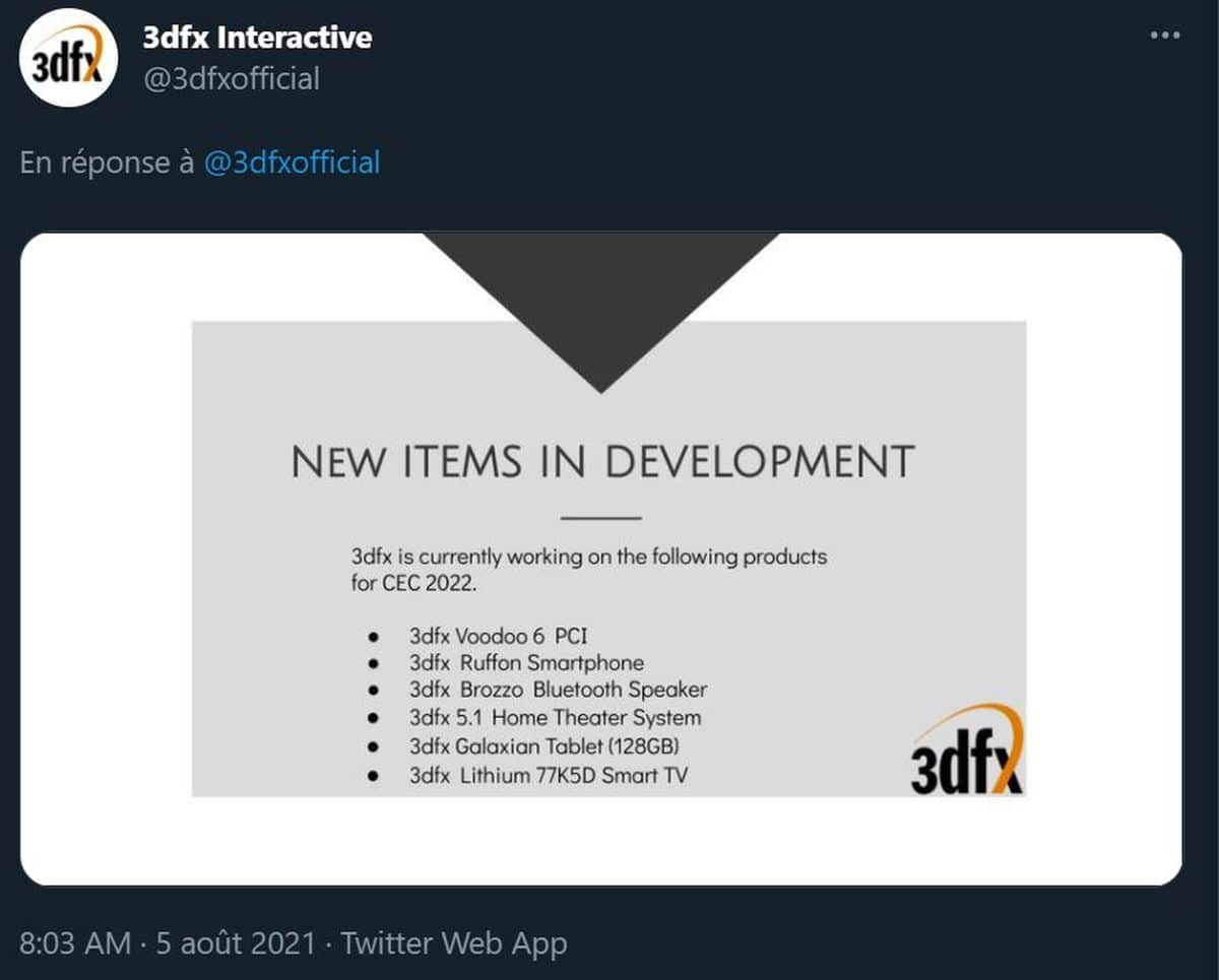 3DFX Twitter
