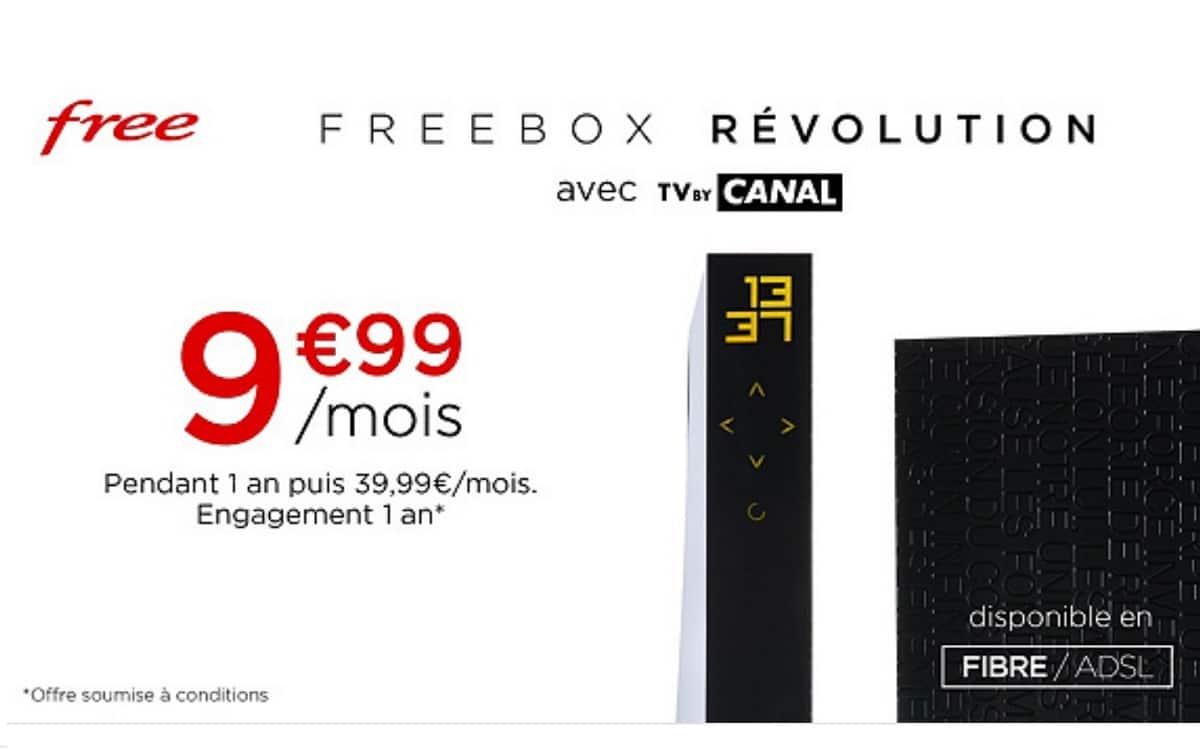 Freebox Revolution Veepee