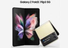 Galaxy Z Fold 3 et Z Flip 3