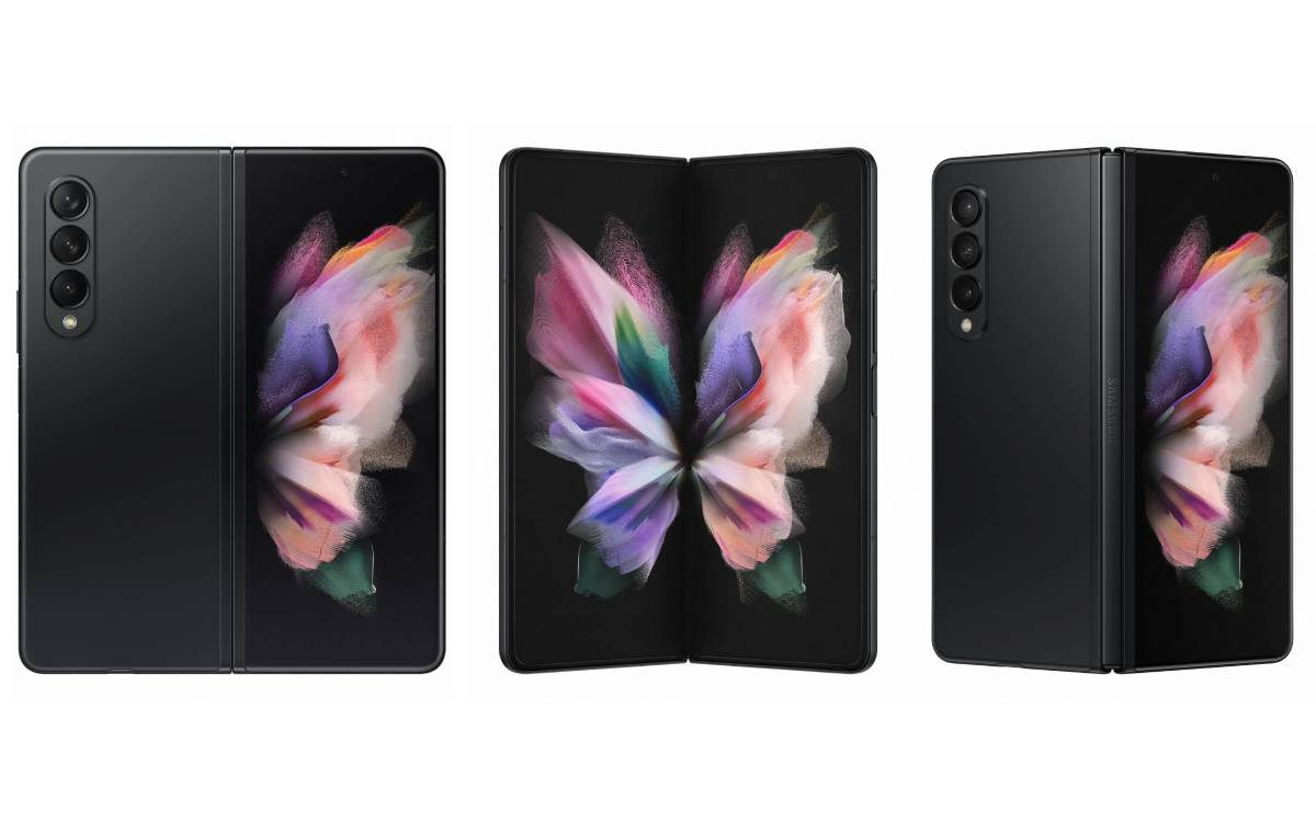 Galaxy Z Fold 3 noir