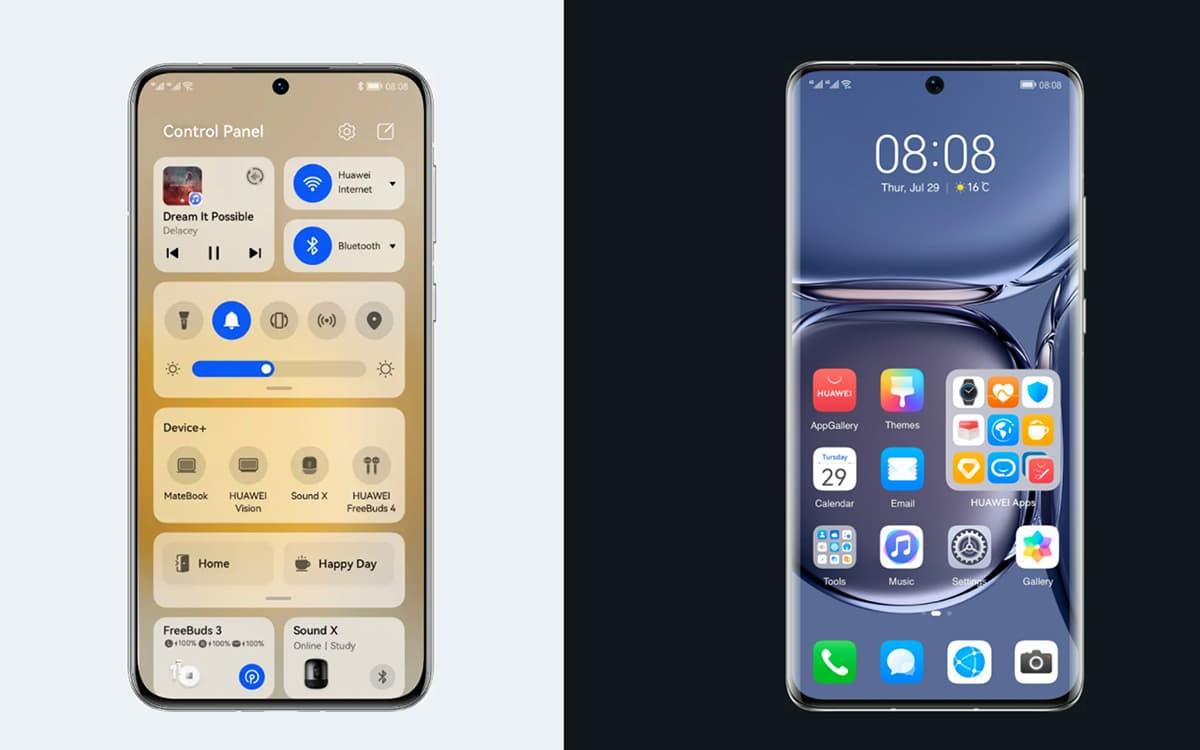 Huawei P50 HarmonyOS 2.1