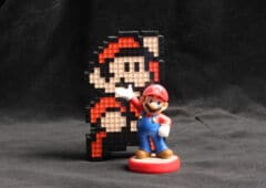 Mario bros figurine