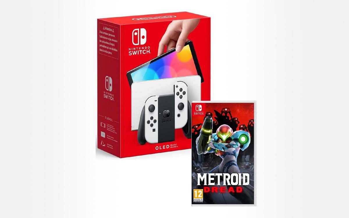 Nintendo Switch OLED + Metroid Dread