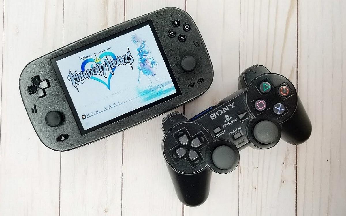 PS2 portable GingerOfOz
