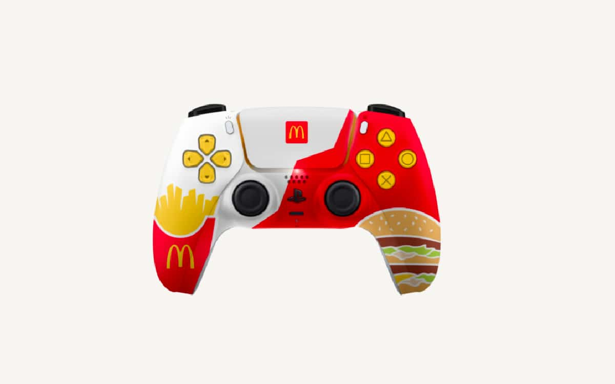 PS5 : McDonald's a voulu offrir des manettes DualSense customisées, Sony a refusé