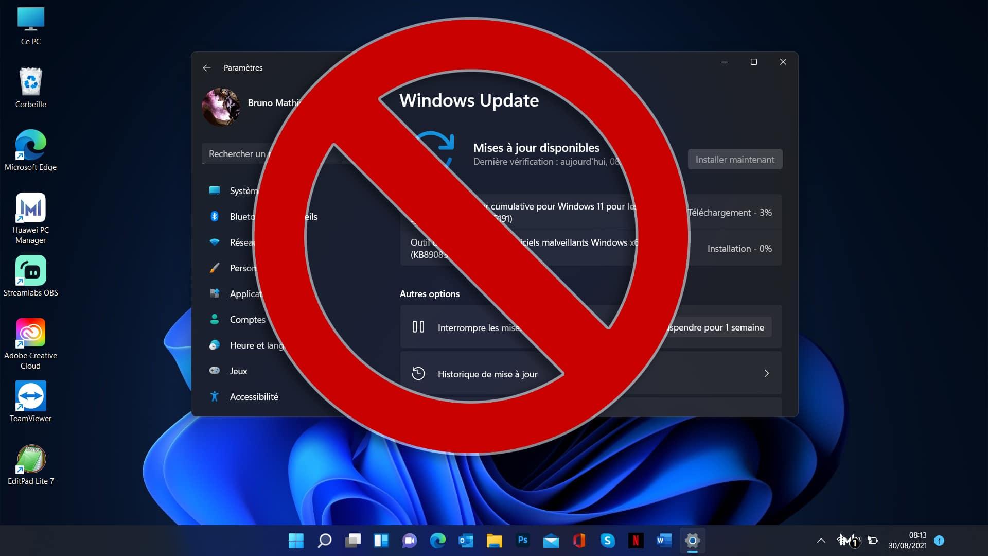 Windows 11 Mise a jour impossible