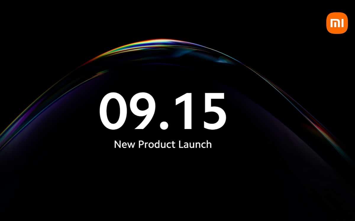 Xiaomi 15 septembre