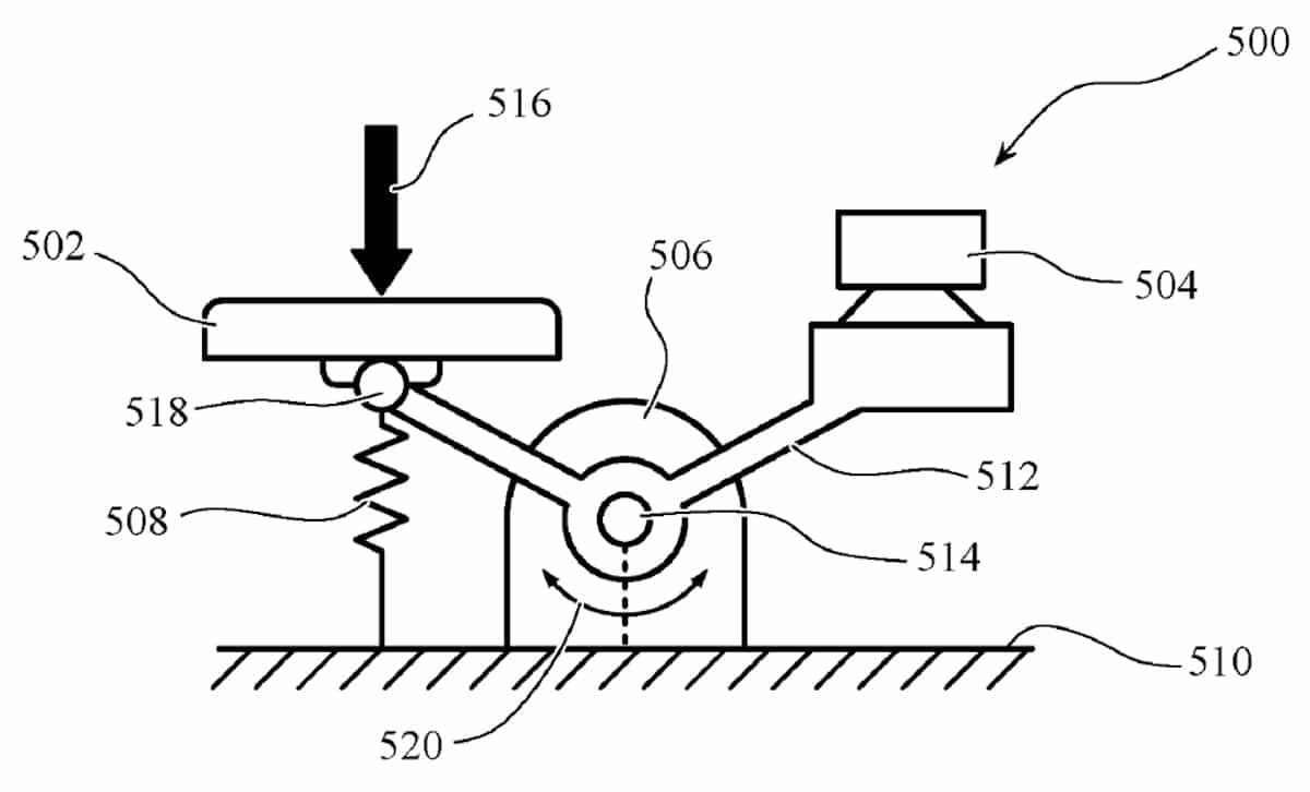 apple macbook brevet clavier adaptatif