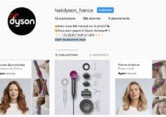dyson arnaque instagram