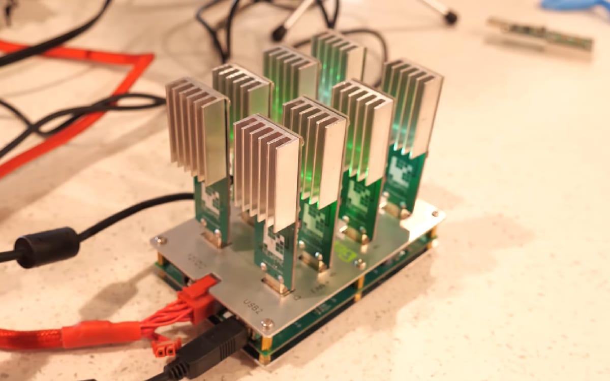 mini bitcoin mining machine