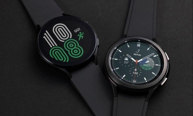 Samsung Galaxy Watch4 et Watch4 Classic