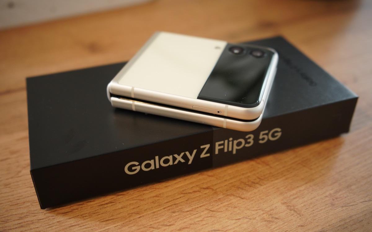 test samsung galaxy z flip 3