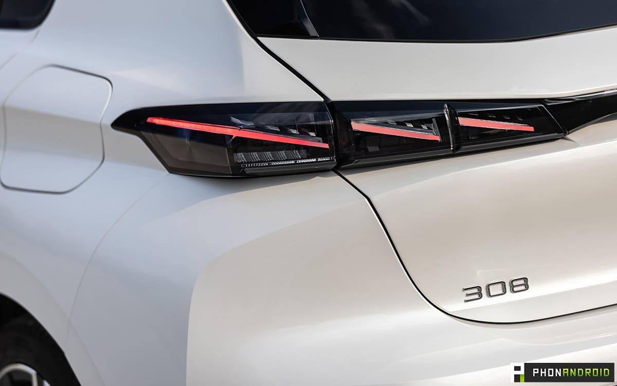 Nouvelle Peugeot 308 Hybrid 2021