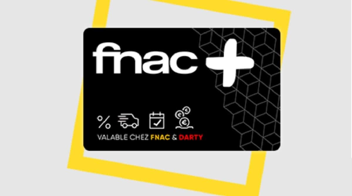 Carte fnac+ offre French days
