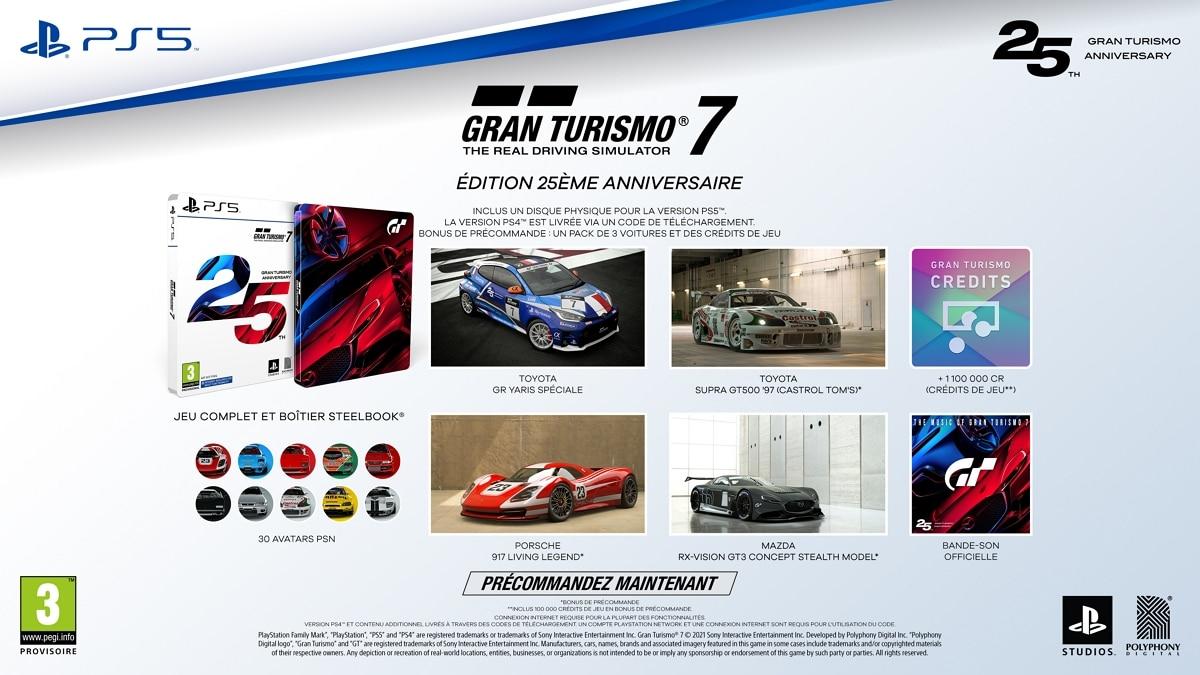 Gran Turismo 7 Edition 25e anniversaire