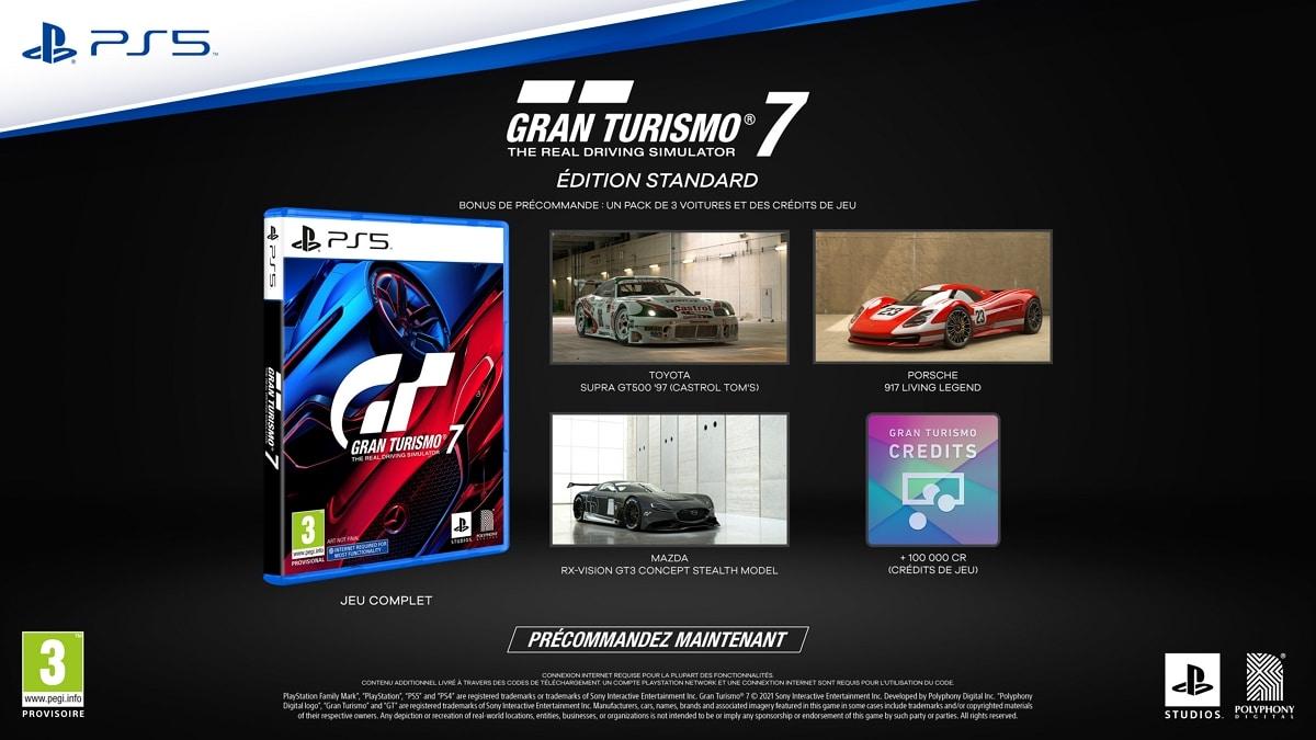 Gran Turismo 7 Edition standard