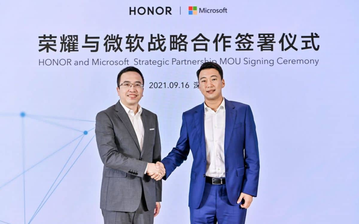 Honor Microsoft