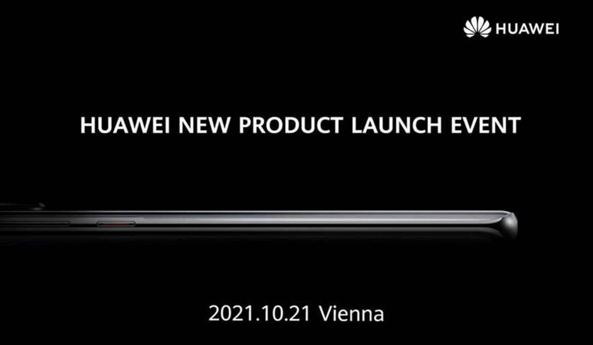Huawei P50 événement