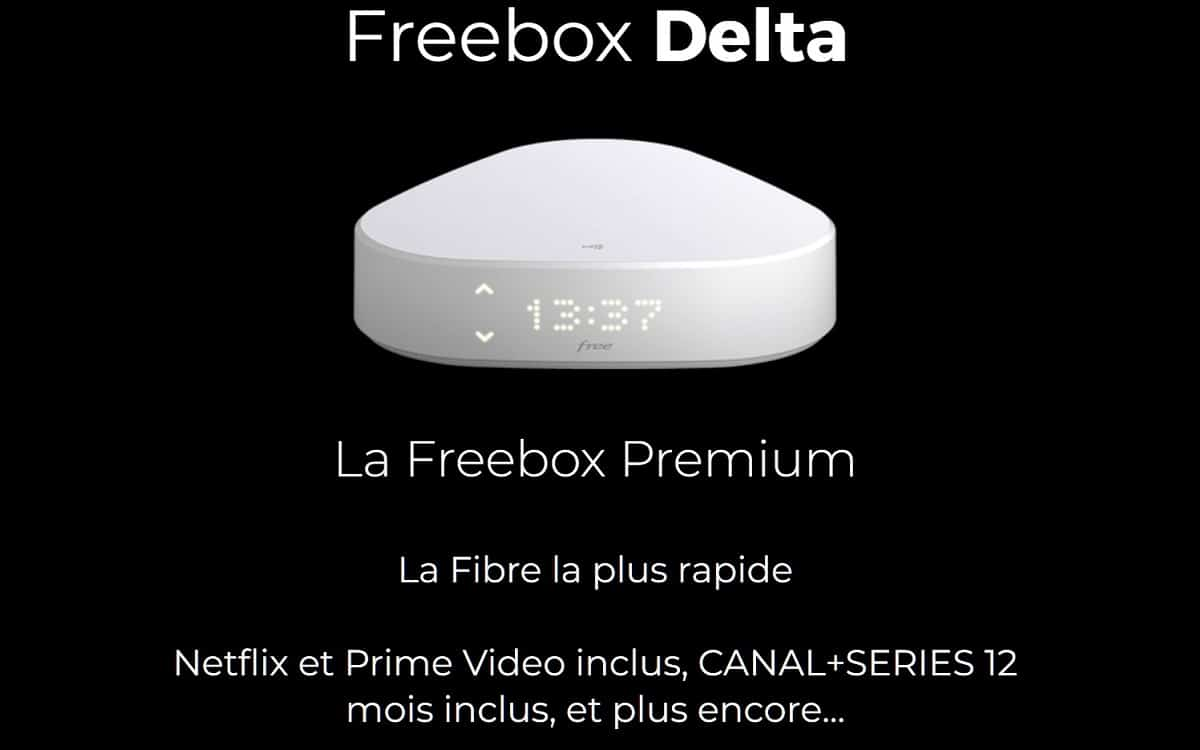 Offre Freebox Delta septembre 2021