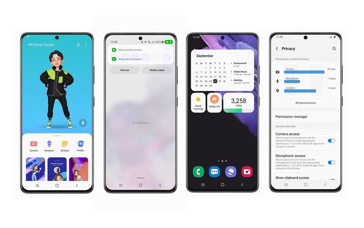 Avec One UI 4, Samsung va transformer votre smartphone Galaxy en iPhone