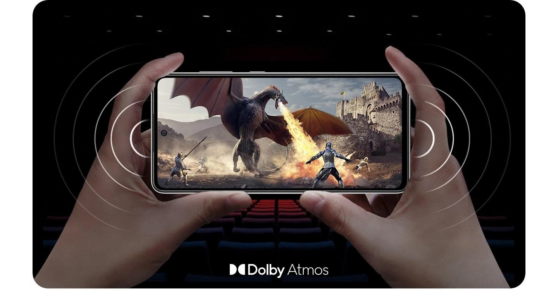 samsung galaxy A52s 5G jeu vidéo