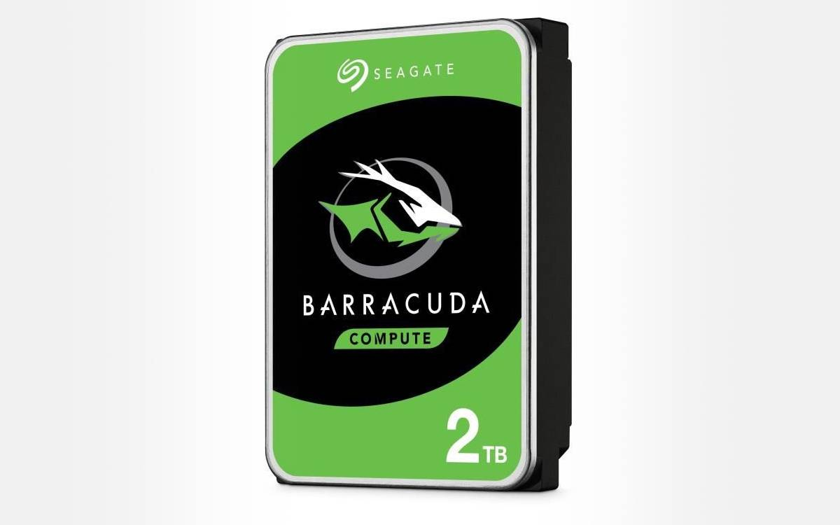 Seagate BarraCuda 2To pas cher