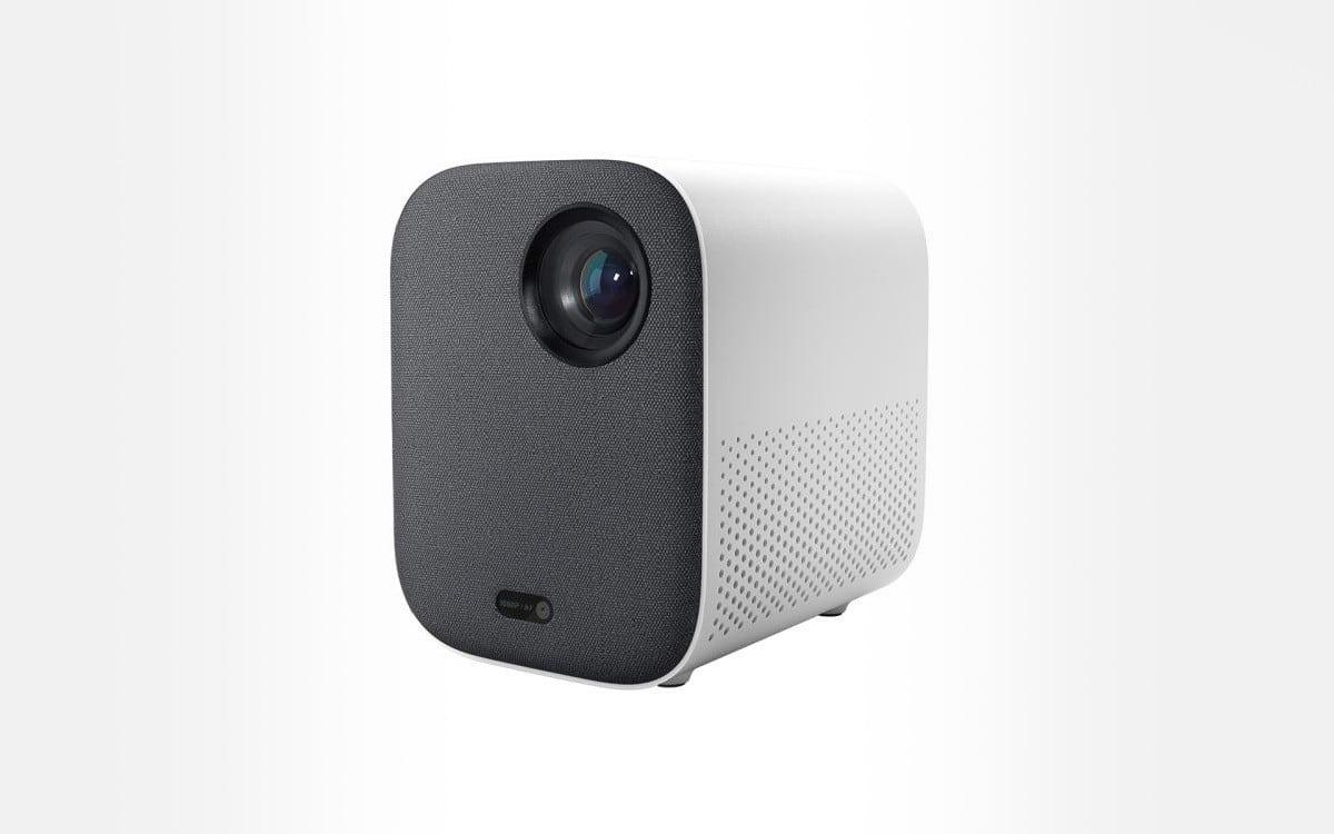 Videoprojecteur-Xiaomi-Mi-Smart-Compact-Gris-Blanc
