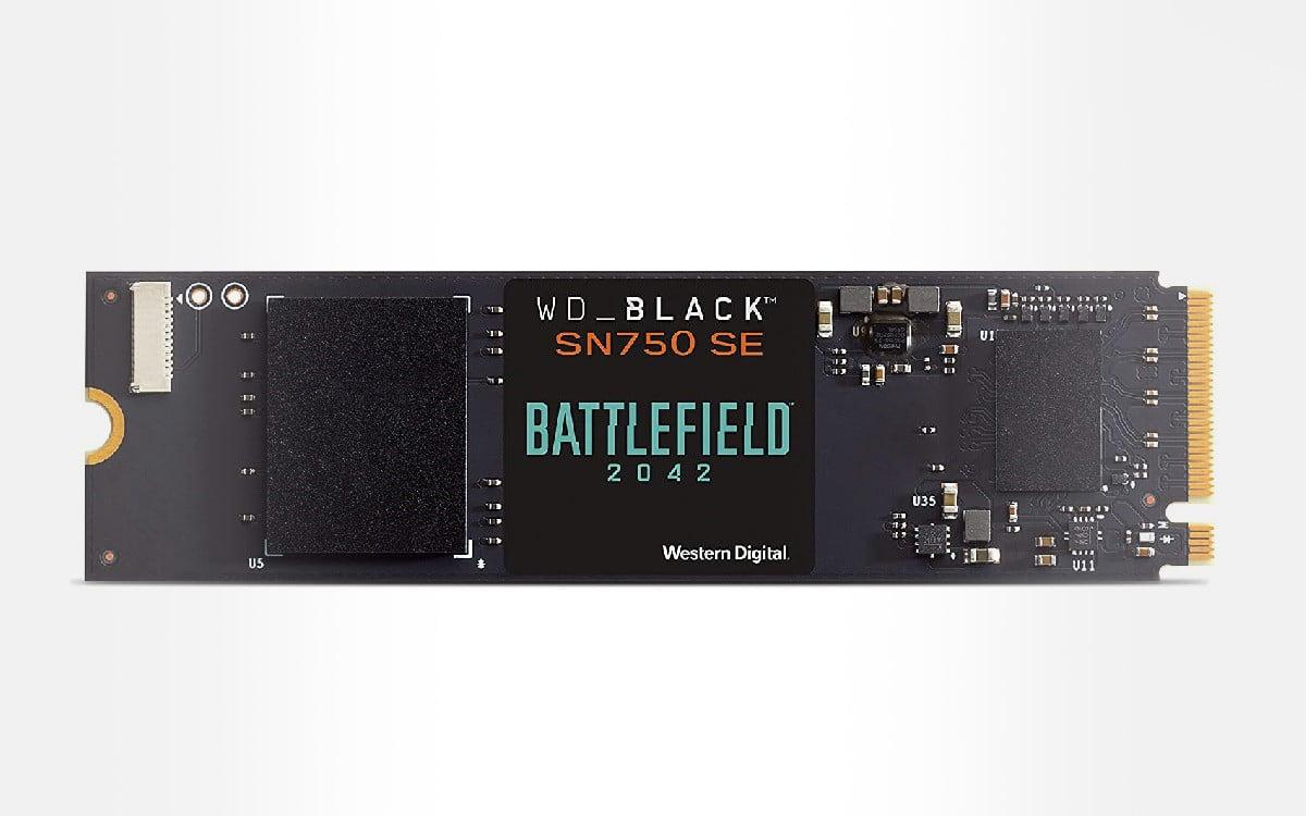 WD Black SN750 SE Battlefield 2042