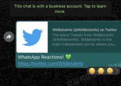 Whatsapp reac