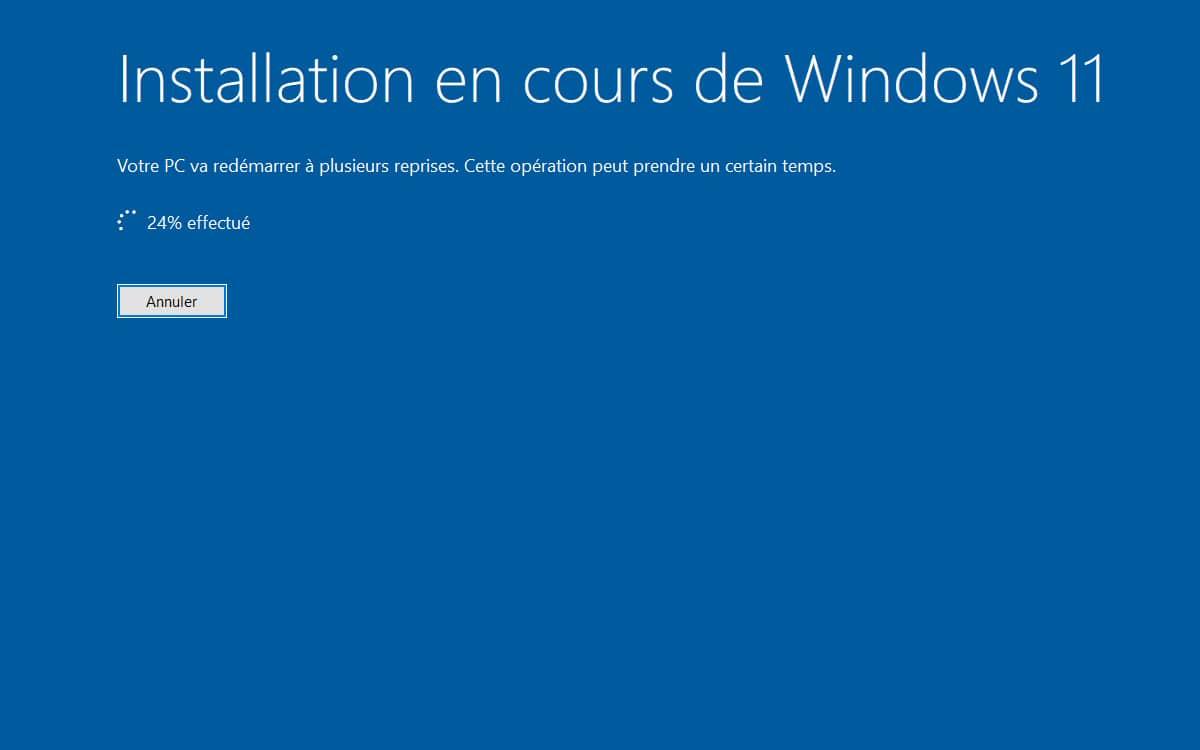 Windows 10 mise a jour vers Windows 11