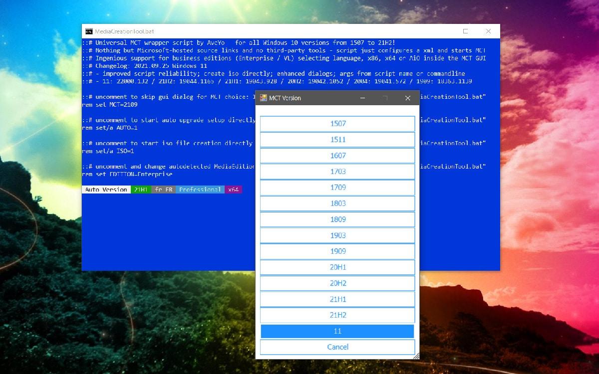 Windows 11 telechargement direct ISO