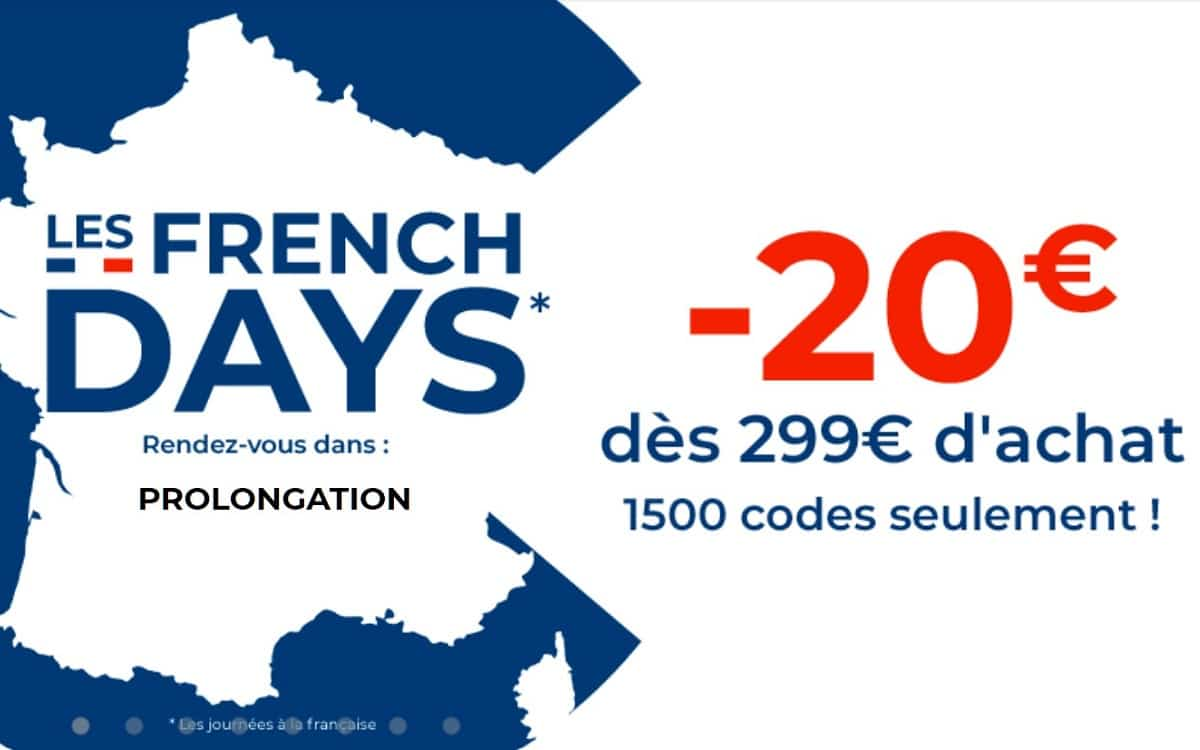 code promo Cdiscount French Days