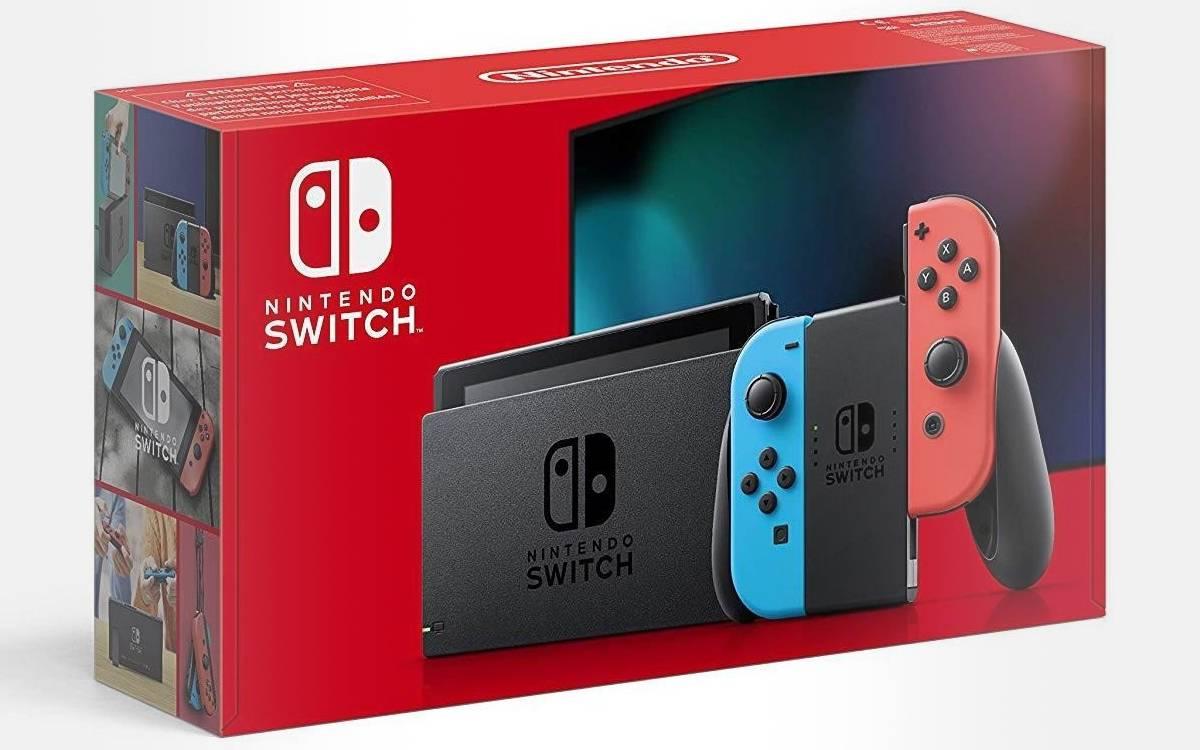 console Nintendo Switch à prix réduit