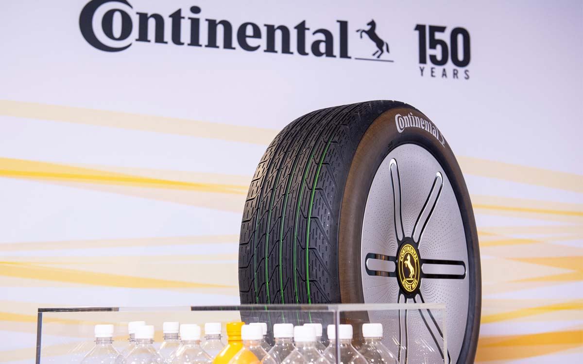 continental pneu vert