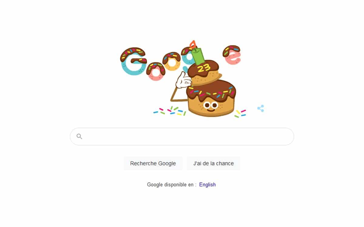 doodle google 23 ans