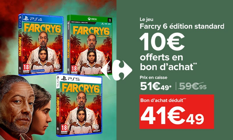 farcry 6 carrefour