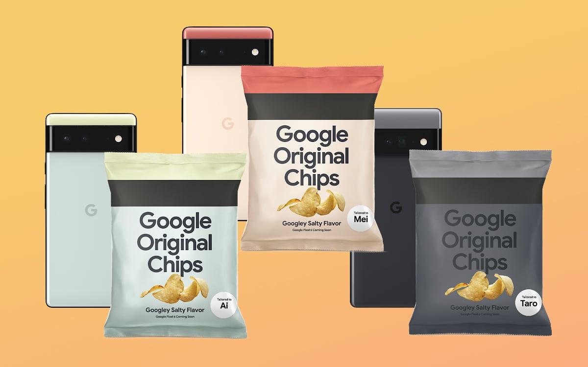 google pixel 6 chips
