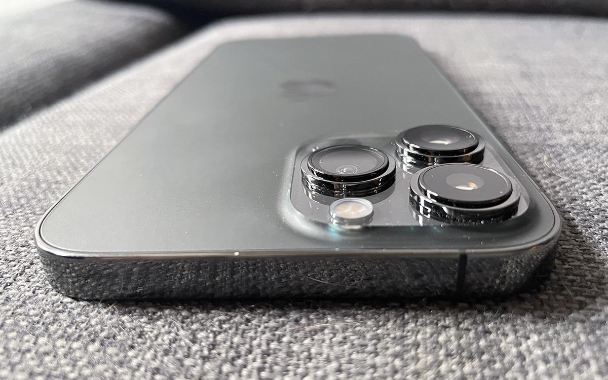 iPhone 13 pro max bloc photo
