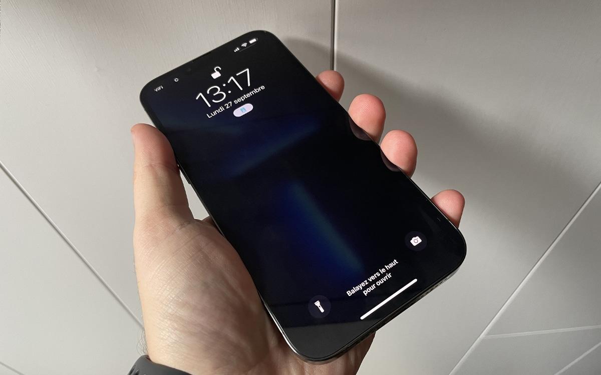 iPhone 13 pro max design avant