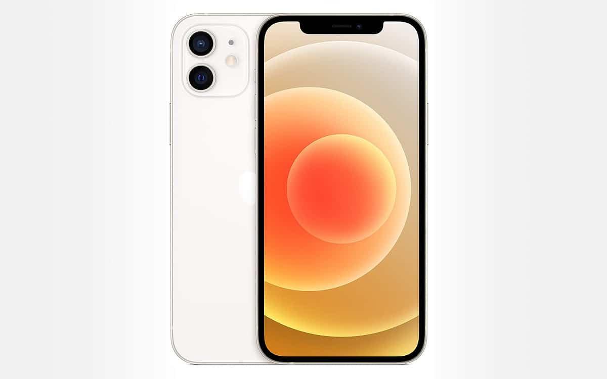 iPhone 12 blanc