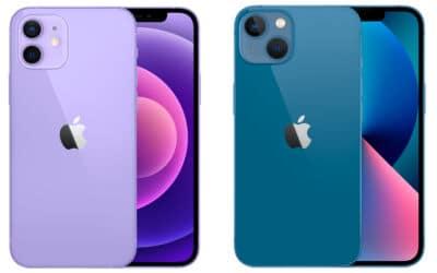 iphone 12 versus iphone 13