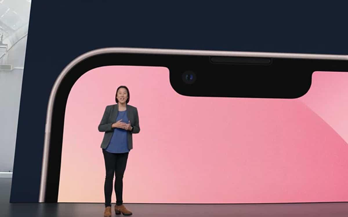 iphone 13 encoche