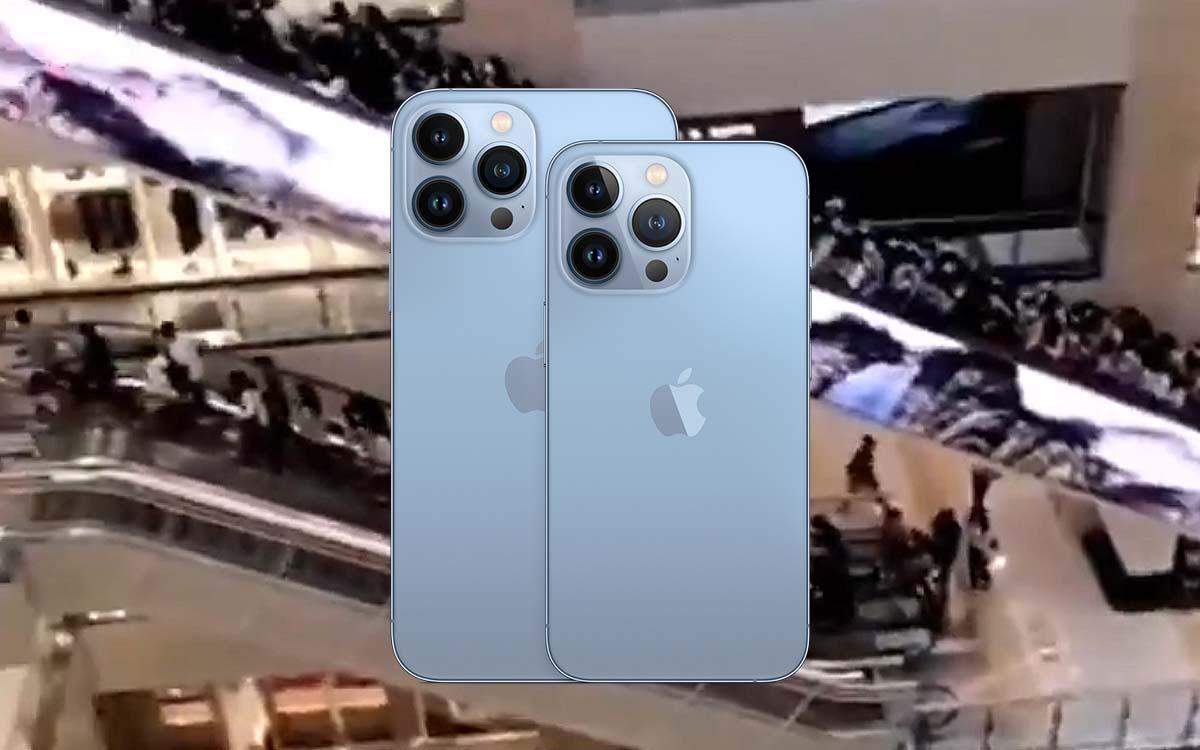 iphone 13 folie lancement