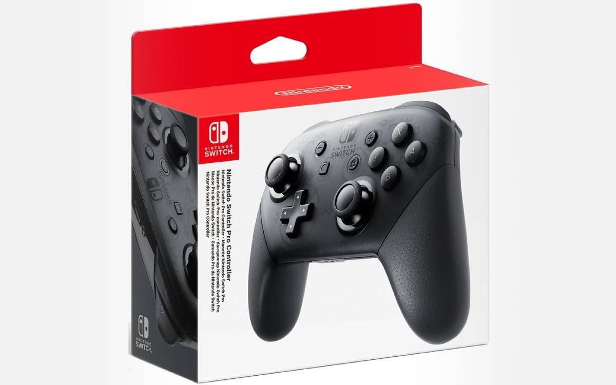 manette Nintendo Switch Pro à prix réduit