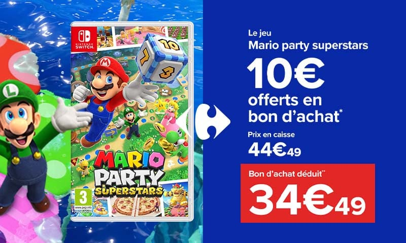 mario party superstars carrefour
