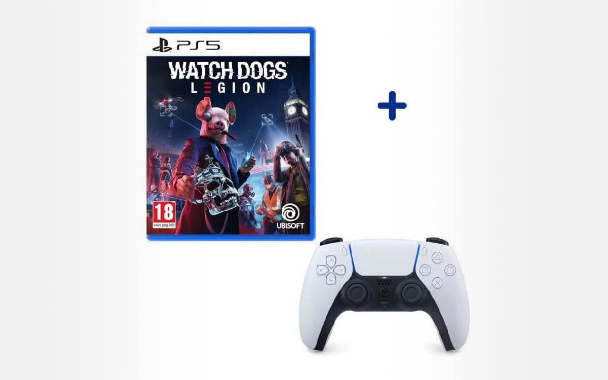 pack-playstation-manette-dualsense-blanche-white