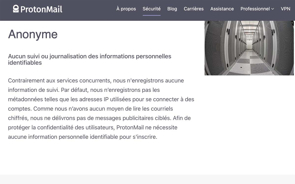 protonmail security