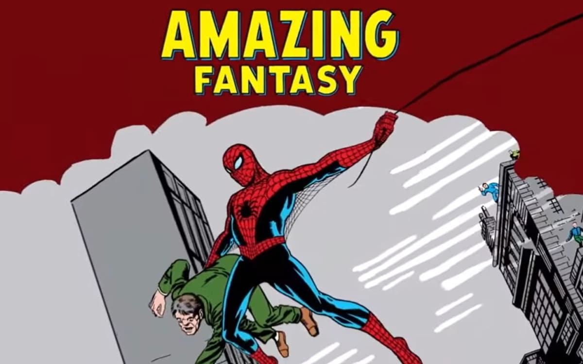 spider man comics plus cher monde
